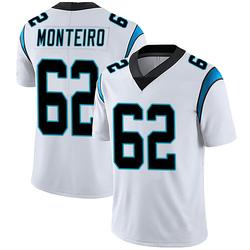 Aaron Monteiro Carolina Panthers Limited Men's Vapor Untouchable Jersey (White)