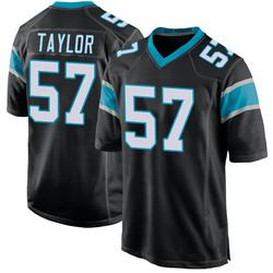 Adarius Taylor Carolina Panthers Game Men's Team Color Jersey (Black)