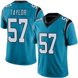 Adarius Taylor Carolina Panthers Limited Men's Alternate Vapor Untouchable Jersey (Blue)