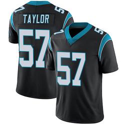 Adarius Taylor Carolina Panthers Limited Men's Team Color Vapor Untouchable Jersey (Black)