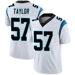 Adarius Taylor Carolina Panthers Limited Men's Vapor Untouchable Jersey (White)