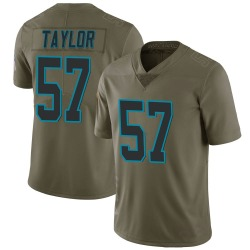 Adarius Taylor Carolina Panthers Limited Youth 2017 Salute to Service Jersey (Green)