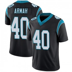 Alex Armah Carolina Panthers Limited Men's Team Color Vapor Untouchable Jersey (Black)
