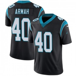Alex Armah Carolina Panthers Limited Youth Team Color Vapor Untouchable Jersey (Black)