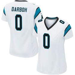 Amara Darboh Carolina Panthers Game Women's Jersey (White)
