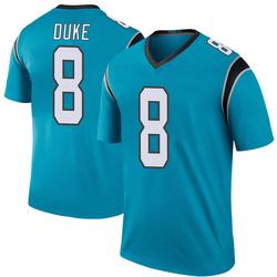 Austin Duke Carolina Panthers Legend Men's Color Rush Jersey (Blue)