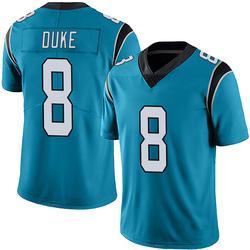Austin Duke Carolina Panthers Limited Men's Alternate Vapor Untouchable Jersey (Blue)