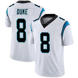 Austin Duke Carolina Panthers Limited Men's Vapor Untouchable Jersey (White)