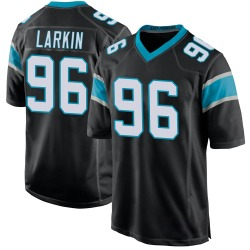 Austin Larkin Carolina Panthers Game Men's Team Color Jersey (Black)