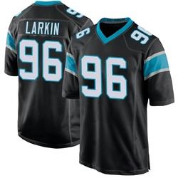 Austin Larkin Carolina Panthers Game Youth Team Color Jersey (Black)