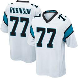 Austrian Robinson Carolina Panthers Game Men's Jersey (White)