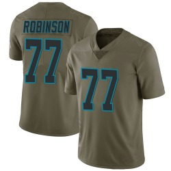 Austrian Robinson Carolina Panthers Limited Men's 2017 Salute to Service Jersey (Green)