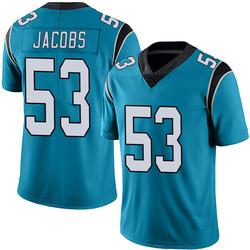 Ben Jacobs Carolina Panthers Limited Youth Alternate Vapor Untouchable Jersey (Blue)