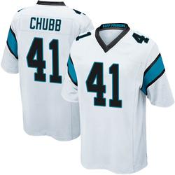 Brandon Chubb Carolina Panthers Game Men's Jersey (White)