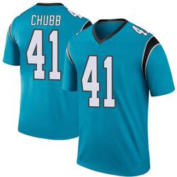 Brandon Chubb Carolina Panthers Legend Men's Color Rush Jersey (Blue)