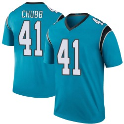 Brandon Chubb Carolina Panthers Legend Youth Color Rush Jersey (Blue)