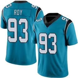 Bravvion Roy Carolina Panthers Limited Men's Alternate Vapor Untouchable Jersey (Blue)