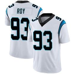Bravvion Roy Carolina Panthers Limited Men's Vapor Untouchable Jersey (White)