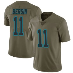 Brenton Bersin Carolina Panthers Limited Men's 2017 Salute to Service Jersey (Green)