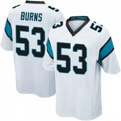 Brian Burns Carolina Panthers Game Youth Jersey (White)