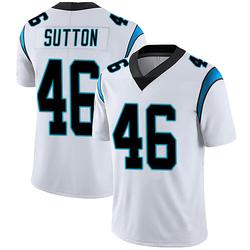 Cam Sutton Carolina Panthers Limited Men's Vapor Untouchable Jersey (White)