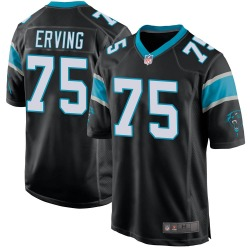 Cameron Erving Carolina Panthers Game Youth Team Color Jersey (Black)