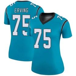 Cameron Erving Carolina Panthers Legend Women's Color Rush Jersey (Blue)