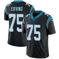 Cameron Erving Carolina Panthers Limited Youth Team Color Vapor Untouchable Jersey (Black)