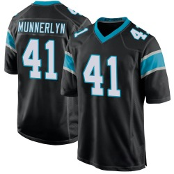 Captain Munnerlyn Carolina Panthers Game Youth Team Color Jersey (Black)