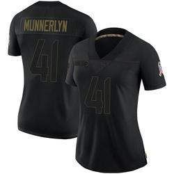 Captain Munnerlyn Carolina Panthers Limited Women's 2020 Salute To Service Jersey (Black)