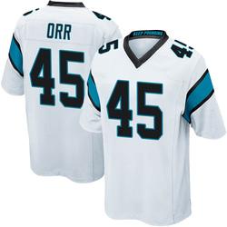 Chris Orr Carolina Panthers Game Men's Jersey (White)