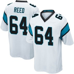 Chris Reed Carolina Panthers Game Men's Jersey (White)