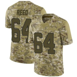 Chris Reed Carolina Panthers Limited Men's 2018 Salute to Service Jersey (Camo)