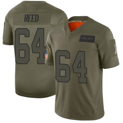 Chris Reed Carolina Panthers Limited Men's 2019 Salute to Service Jersey (Camo)