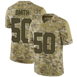 Chris Smith Carolina Panthers Limited Youth 2018 Salute to Service Jersey (Camo)