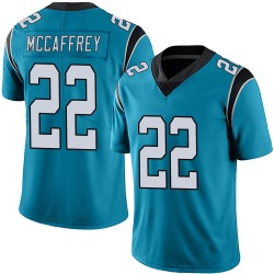 Christian McCaffrey Carolina Panthers Limited Men's Alternate Vapor Untouchable Jersey (Blue)