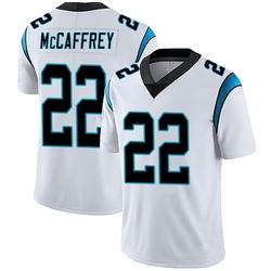 Christian McCaffrey Carolina Panthers Limited Men's Vapor Untouchable Jersey (White)