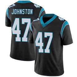Clay Johnston Carolina Panthers Limited Men's Team Color Vapor Untouchable Jersey (Black)