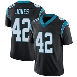 Colin Jones Carolina Panthers Limited Youth Team Color Vapor Untouchable Jersey (Black)