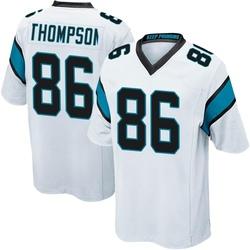 Colin Thompson Carolina Panthers Game Men's Jersey (White)