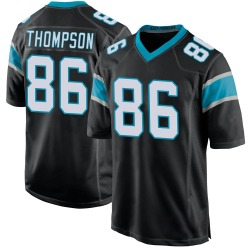 Colin Thompson Carolina Panthers Game Men's Team Color Jersey (Black)