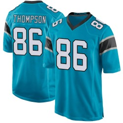 Colin Thompson Carolina Panthers Game Youth Alternate Jersey (Blue)
