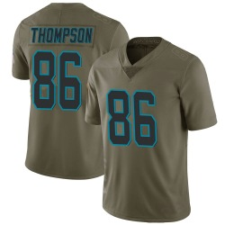 Colin Thompson Carolina Panthers Limited Men's 2017 Salute to Service Jersey (Green)