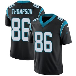 Colin Thompson Carolina Panthers Limited Youth Team Color Vapor Untouchable Jersey (Black)