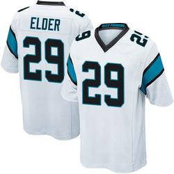 Corn Elder Carolina Panthers Game Youth Jersey (White)