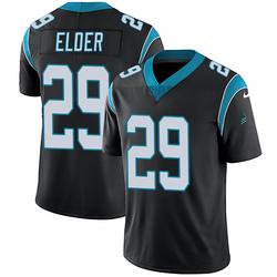 Corn Elder Carolina Panthers Limited Youth Team Color Vapor Untouchable Jersey (Black)