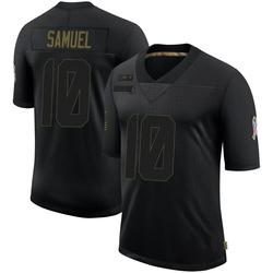 Curtis Samuel Carolina Panthers Limited Youth 2020 Salute To Service Jersey (Black)
