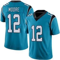 DJ Moore Carolina Panthers Limited Men's Alternate Vapor Untouchable Jersey (Blue)