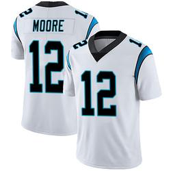 DJ Moore Carolina Panthers Limited Men's Vapor Untouchable Jersey (White)