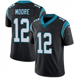 DJ Moore Carolina Panthers Limited Youth Team Color Vapor Untouchable Jersey (Black)